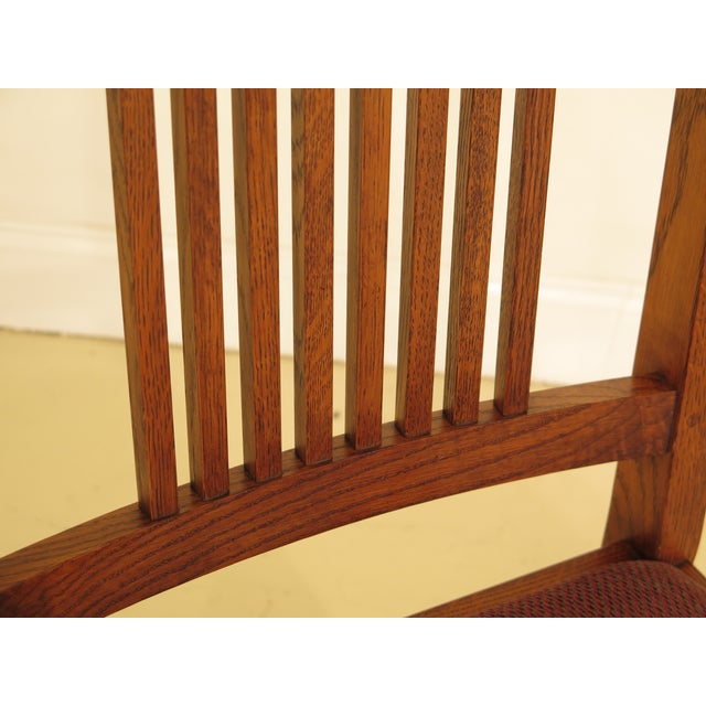 Stickley Mission Oak Dining Room Chairs - Set of 4 For Sale - Image 9 of 13