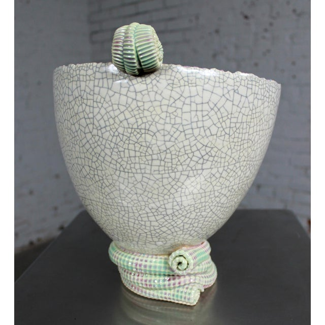 Sea Green Ceramic Sculpture by Martin Bleyer - Image 5 of 11