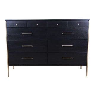 Paul McCobb for Calvin Furniture Ebonized Dresser For Sale