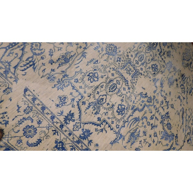 """Erased Hand-Knotted Luxury Rug - 7'11"""" X 9'10"""" - Image 3 of 9"""