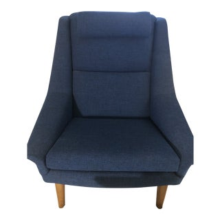 1960s Vintage Folke Ohlsson for Fritz Hansen Model 4410 Lounge Chair For Sale