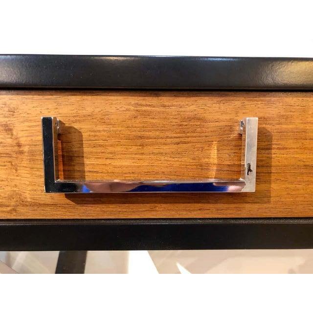 Mid-Century Modern Milo Baughman Vanity Desk For Sale - Image 4 of 13