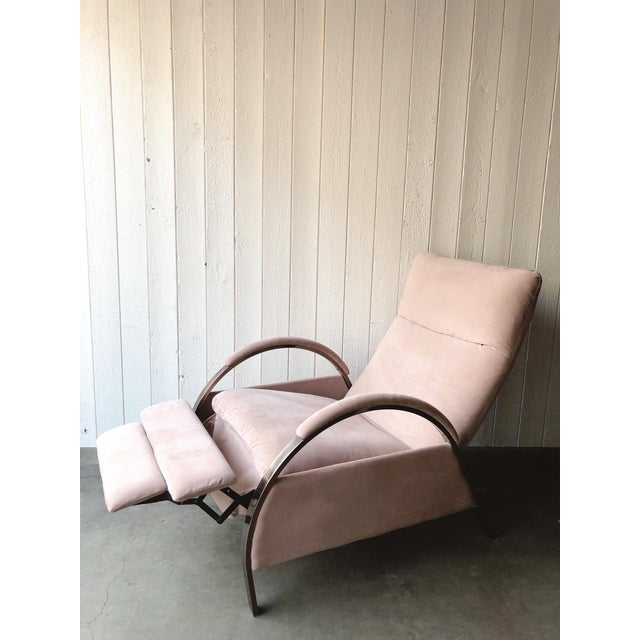 Metal 1980s Vintage George Mulhauser for Design Institute of America Lounge Chair For Sale - Image 7 of 12
