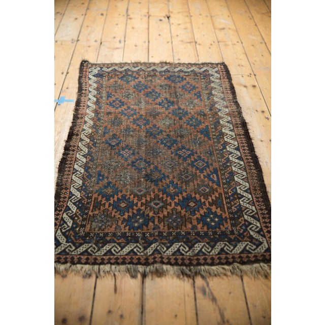 "Antique Belouch Rug - 2'7"" X 4'6"" For Sale In New York - Image 6 of 9"