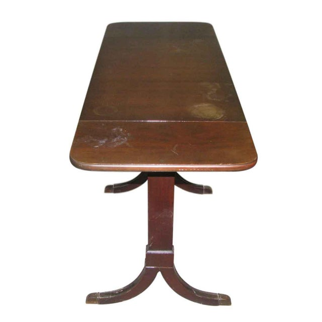Duncan Phyfe Occasional Drop-Leaf Table For Sale - Image 5 of 10