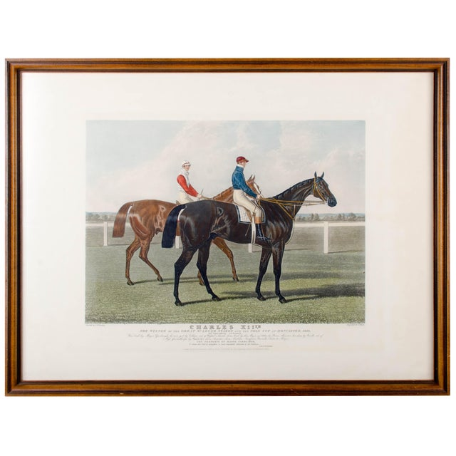 Charles Hunt Race Horse Engraving - Image 1 of 4