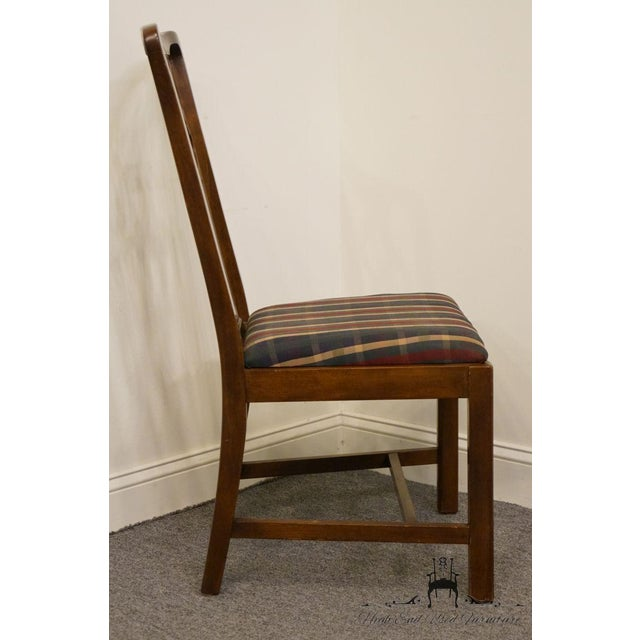 Drexel Late 20th Century Drexel Heritage Chippendale Style Dining Chair For Sale - Image 4 of 12