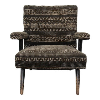 Late 20th Century Mali Mudcloth Armchair For Sale