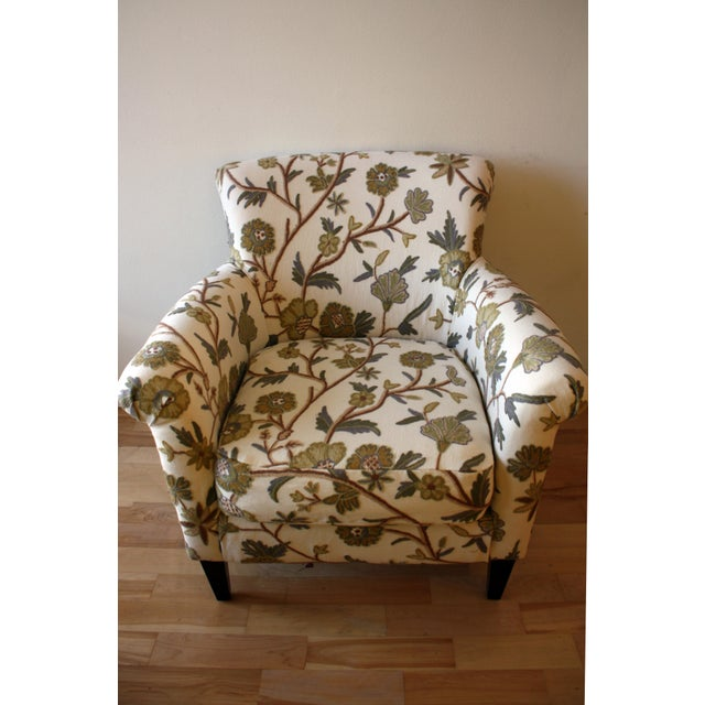 Custom Floral Chair - Image 4 of 5