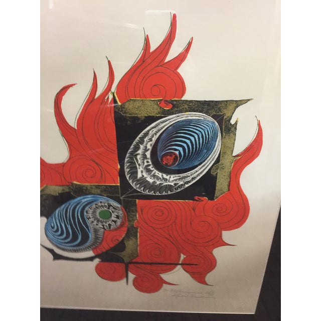 """Signed Lmt ed lithograph circa 1970 #15 of 30, in excellent condition. 32"""" tall x 26"""" wide x 1"""" deep. The image size is..."""