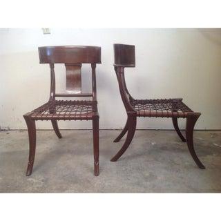 Mid Century Modern Klismos Chairs - a Pair Preview