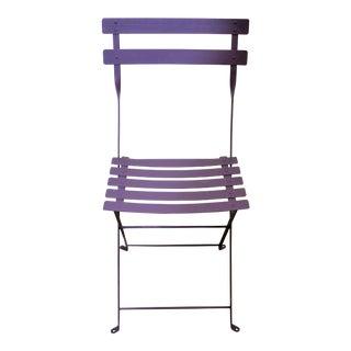 Fermob Bistro Purple Chair For Sale
