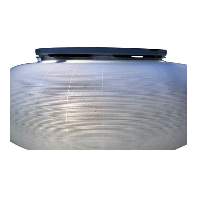 Mid-Century glass flush mount - Image 4 of 4