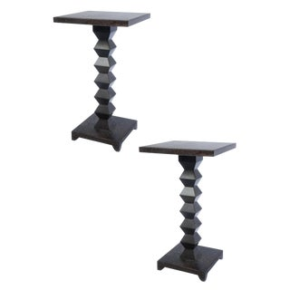 1980s Transitional Donghia Zig Zag Tables For Sale
