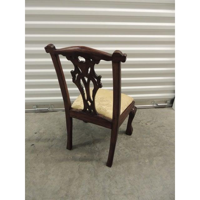 Vintage Carved Wood Children Chair - Image 3 of 5
