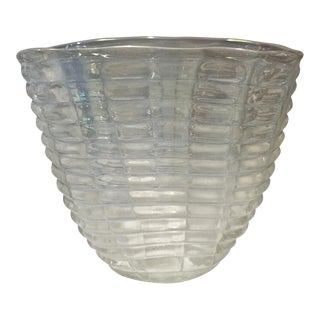 Ercole Barovier Bugnati Glass Vase, 1938 For Sale