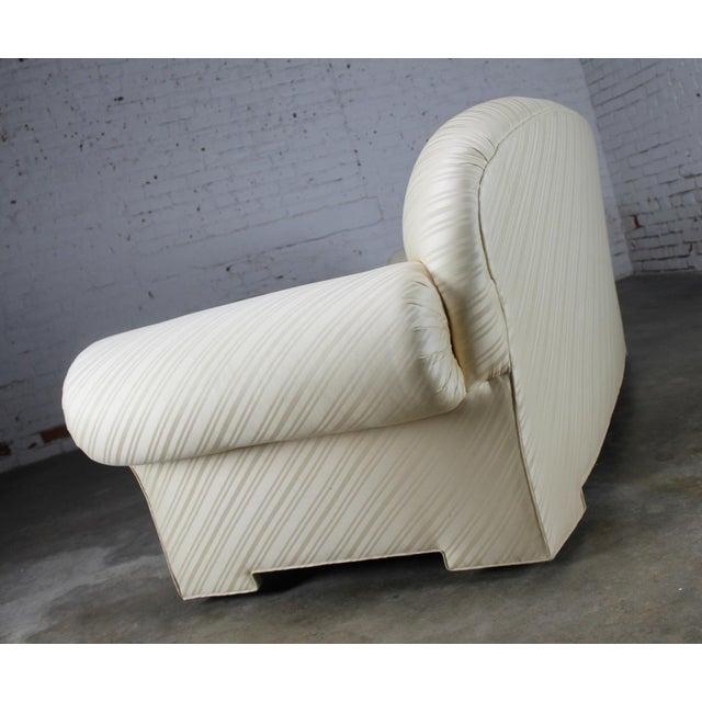 1976 Vintage White Donghia Sofa - Image 4 of 11