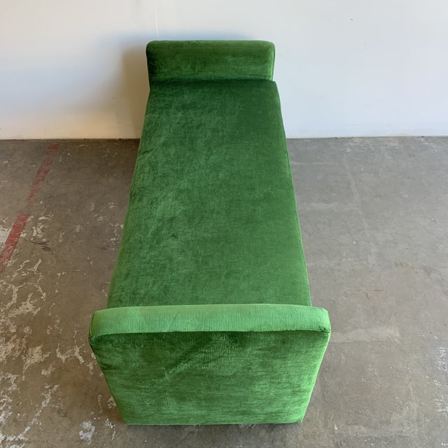 Textile Post Modern Bench For Sale - Image 7 of 13