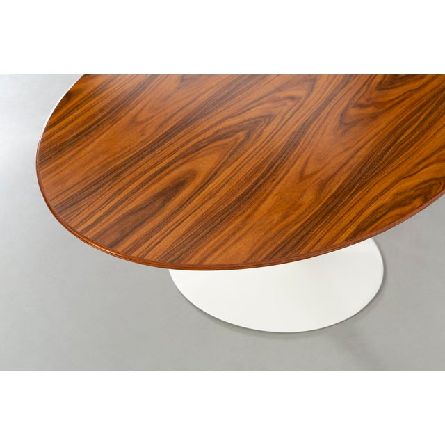 2000 - 2009 Eero Saarinen for Knoll Rosewood Coffee Table 50th Anniversary Edition For Sale - Image 5 of 9