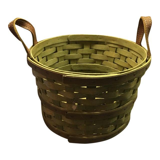 Hand-Woven Basket - Image 1 of 5