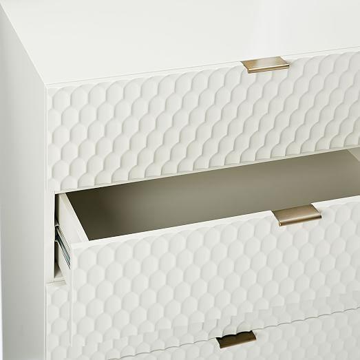 West Elm Audrey 5-Drawer Dresser For Sale - Image 7 of 10