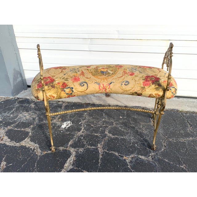 Early 20th Century French Boudoir Bench For Sale - Image 12 of 12