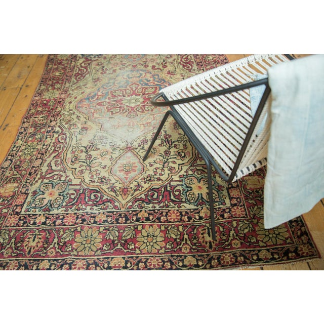 """Antique Kermanshah Rug - 4' x 6'6"""" For Sale In New York - Image 6 of 10"""