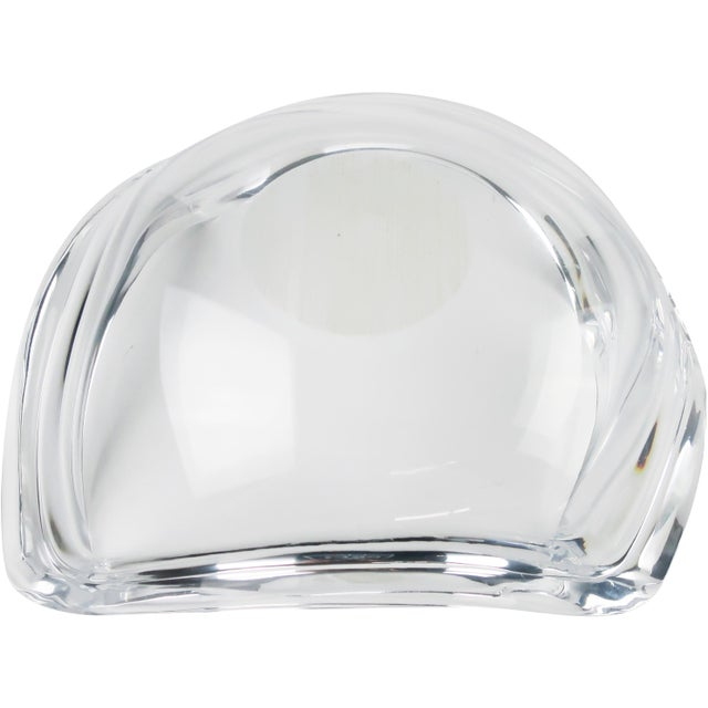 1970s Mid-Century Modern Ritts Co. Astrolite Lucite Bowl For Sale In New York - Image 6 of 10
