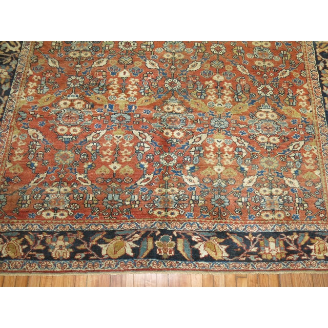 Circa 1930 Persian Mahal Rug - 8'4'' x 10'6'' For Sale In New York - Image 6 of 8