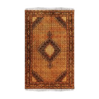 """Persian Tabriz Silk Rug-6'4'x9'6"""" For Sale"""