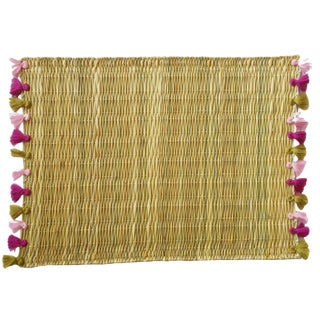Lola Placemat With Tassel, Set of 2 Ojai For Sale