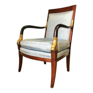 French Empire Chair by Century For Sale
