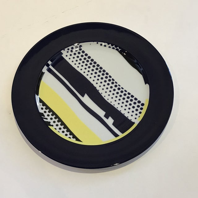 Roy Lichtenstein Roy Lichtenstein for Rosenthal Porcelain Limited Edition Wall Plate For Sale - Image 4 of 7