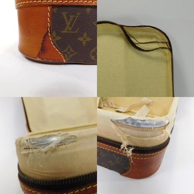 Authentic Vintage Louis Vuitton Suitcases - A Pair - Image 9 of 10