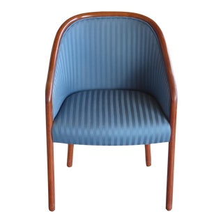 Walnut Banker Chair by Ward Bennett for Brickel For Sale