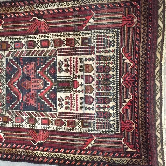 "Turkaman Persian Rug, 2'5"" x 4'1"" - Image 4 of 8"