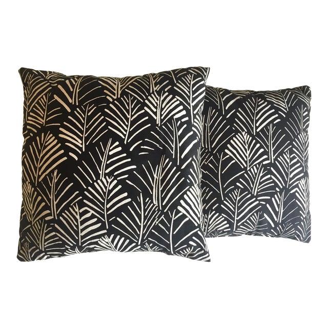 Marimekko Rare Vintage 1970\'s Scandinavian Mid Century Modern Throw Pillows  - a Pair