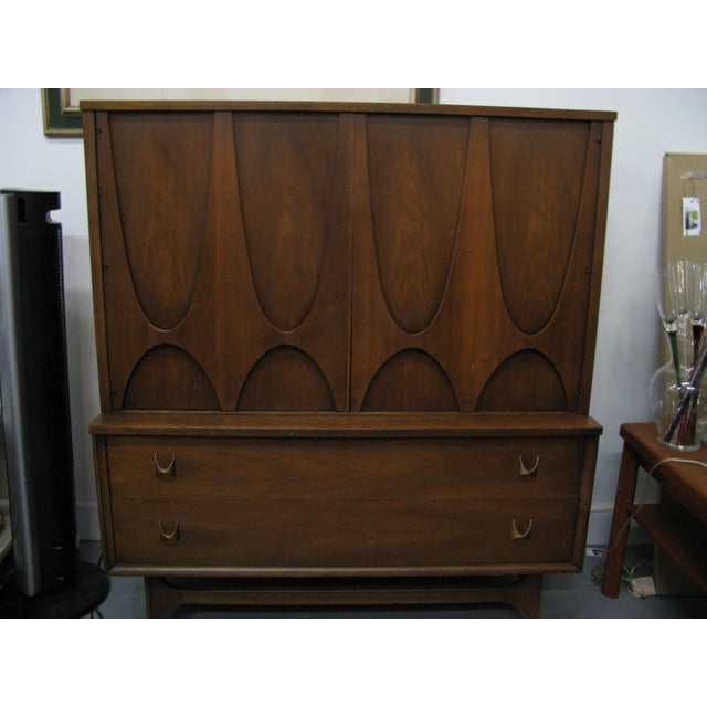 Broyhill Brasilia Highboy Dresser - Image 8 of 11
