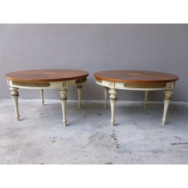 1950s Neoclassical Palladio Coffee Tables - a Pair For Sale - Image 13 of 13