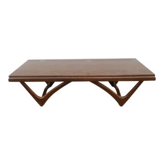 1960s Danish Modern Mersman Coffee Table For Sale