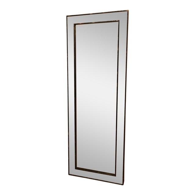 West Elm Tile Floor Mirror - Image 1 of 5