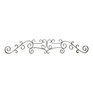 Antique French Iron Architectural Element For Sale