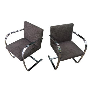 Knoll Brno Chairs by Mies Van Der Rohe - a Pair For Sale
