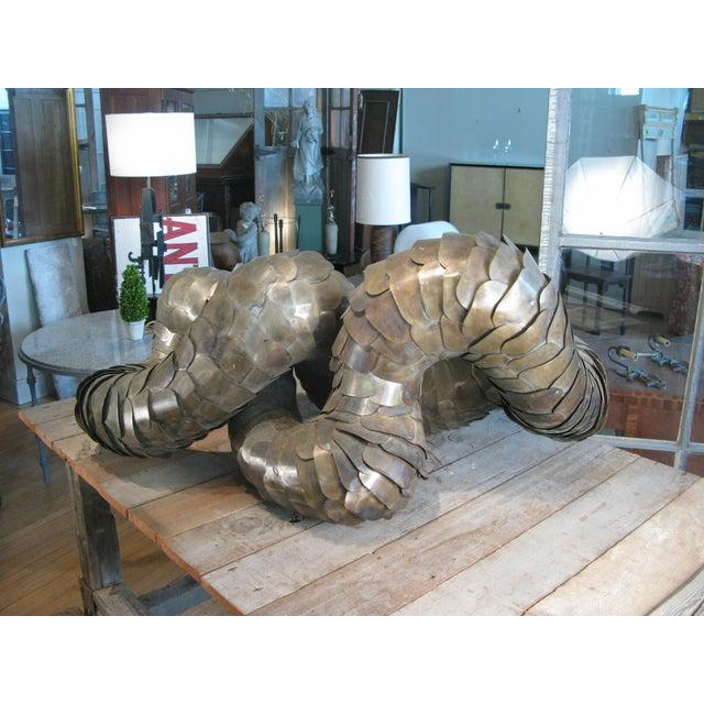 Abstract Ad Infinitum' Sculpture by Artist Joseph Kurhajec For Sale - Image 3 of 11