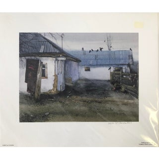 """Shepherds Cottage"" Original Giclée Print Hand Signed by Artist For Sale"