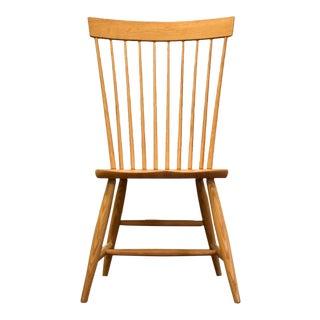 Pompanoosuc Mills Modern Oak Chair For Sale