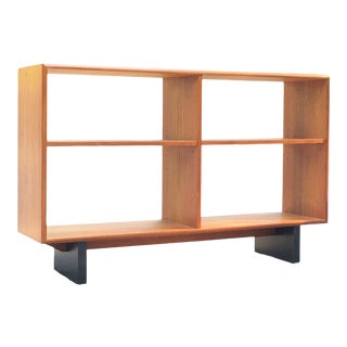 Mid Century Danish Modern Teak Rs Associates Shelf Bookcase For Sale