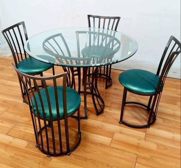 Charming Mid Century Metal Patio Set By Shaver Howard Furniture Company   Image 5 Of  6