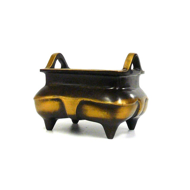 Chinese Bronze Metal Incense Burner - Image 4 of 7