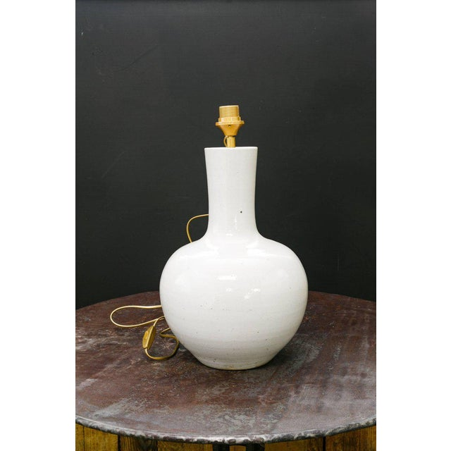 Ceramic Four Gourd-Shaped Table Lamps For Sale - Image 7 of 9